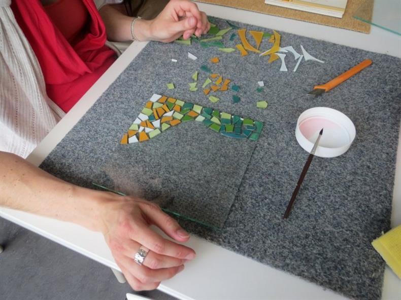 Atelier verre aux Ateliers de la Seigneurie