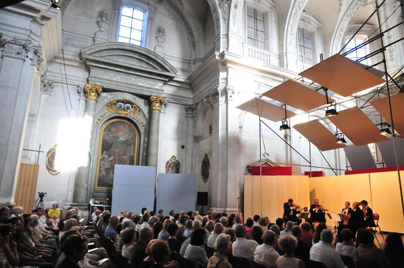 Concert à la Chapelle Saint-Pierre (B. Fruhinsholz)