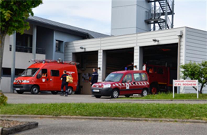 Pompiers de Rosheim - (c) Photos club Rosheim