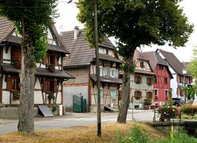 Hirtzbach village fleuri