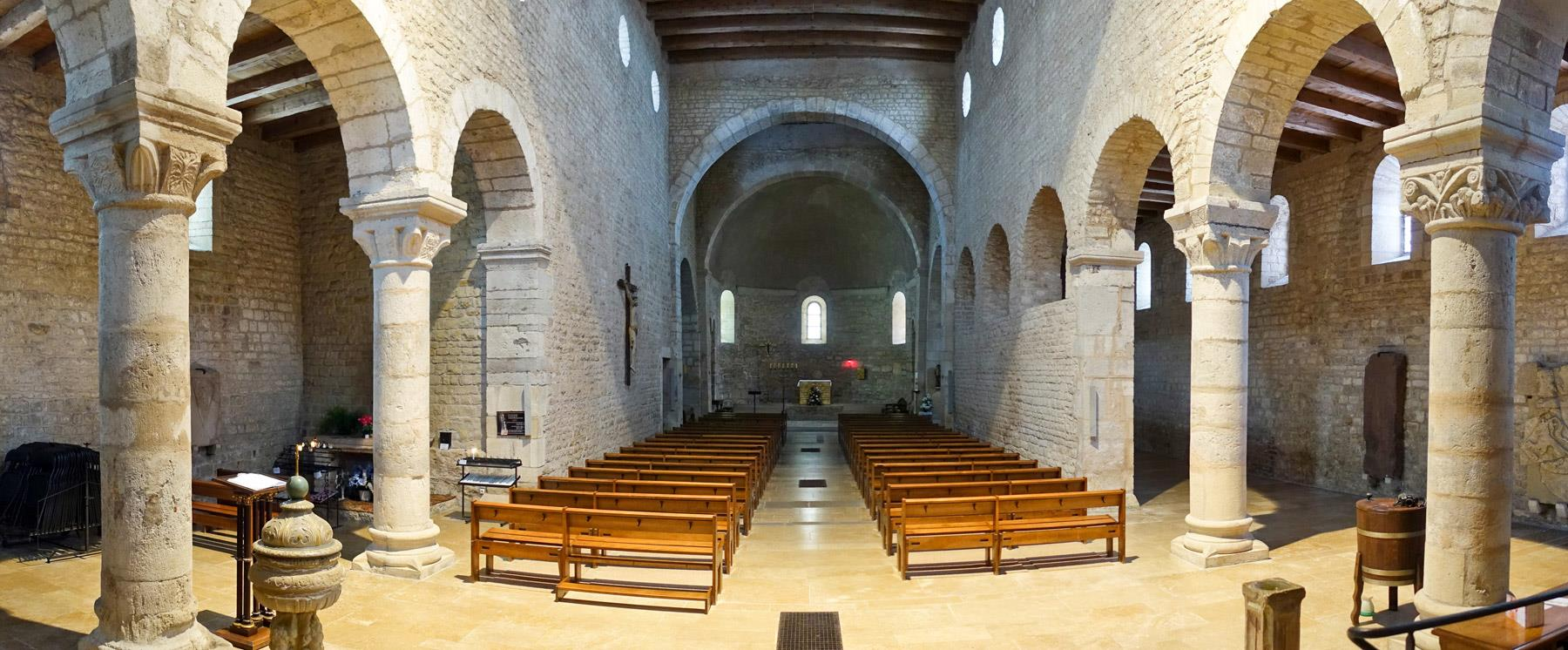St Jacques Romanesque Church from the 12th century
