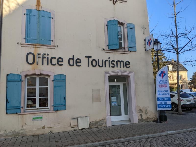 Office de Tourisme du Sundgau, Sud Alsace, bureau d'informations touristiques d'Altkirch