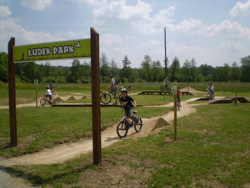Bike Park in Friesen