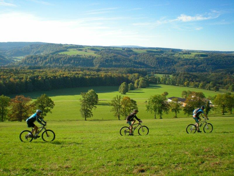 MTB breaks in the Alsatian Jura