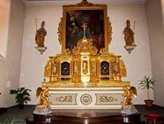 Tabernacle de l'abbatiale de Lucelle
