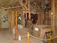 Intérieur du moulin de Courtelevant