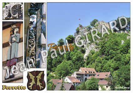 Carte postale de Ferrette