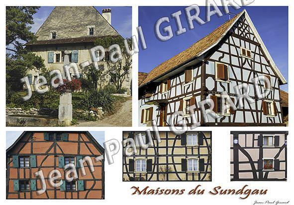 Carte postale Maison du Sundgau