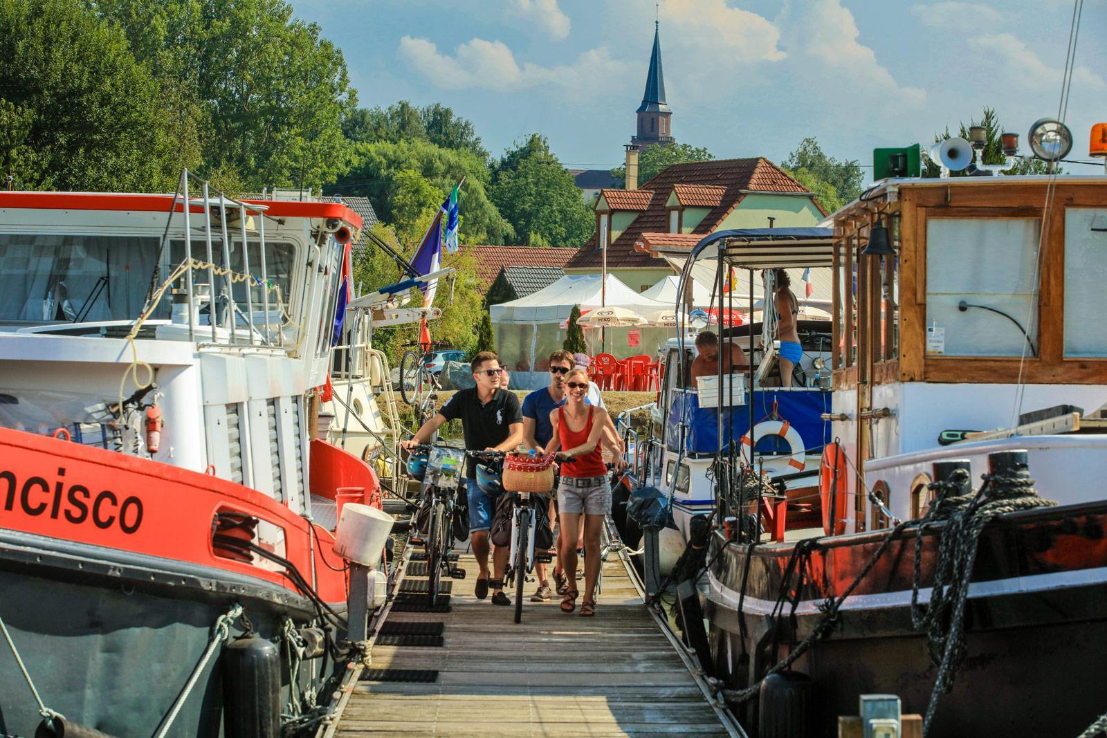 Fahrradtour im Sundgau n°2 : Rund um den kanal