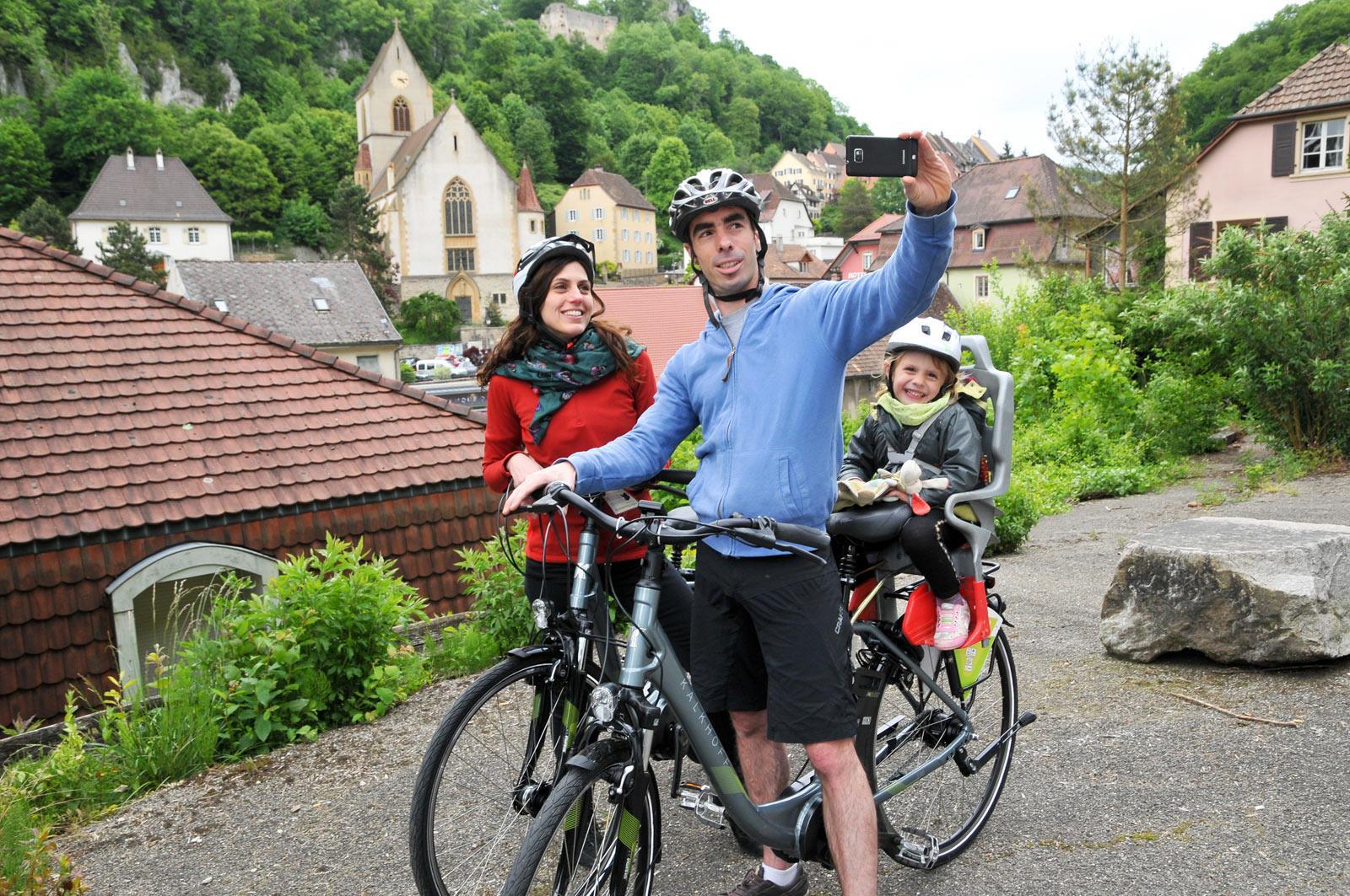 Fahrradtour im Sundgau n°5 - Am Fuss des Elsässischen Jura