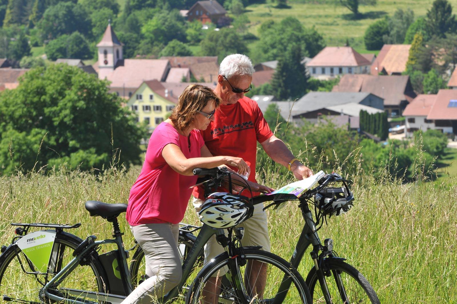 Fahrradtour im Sundgau n°6 - Das obere Ill-Tal