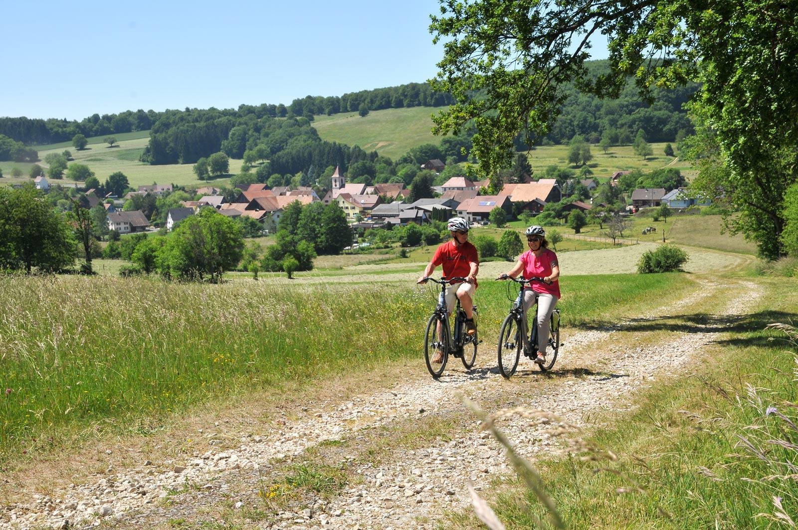 Fahrradtour im Sundgau n°7 - Das obere Largue-Tal