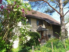 Vue extérieure du gîte de Bendorf en Alsace