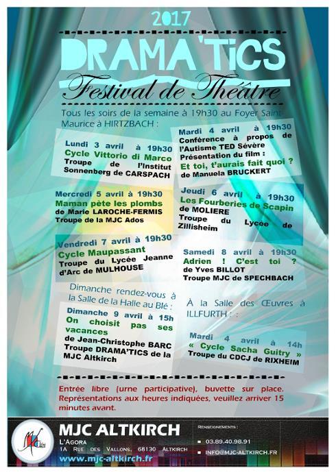 Festival de théâtre Drama'tics