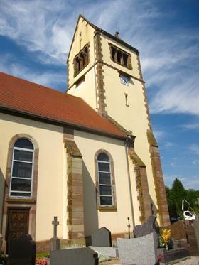 Eglise de Gildwiller ©Vianney-MULLER
