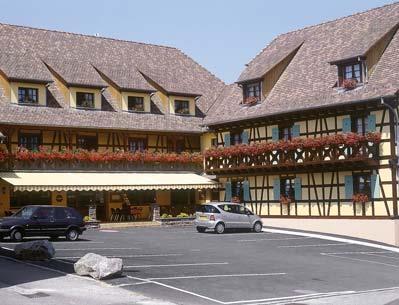 Hôtel-restaurant au Soleil