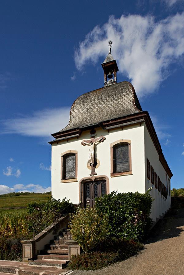 Die Marlenberg Kapelle und seinen Kreutzweg