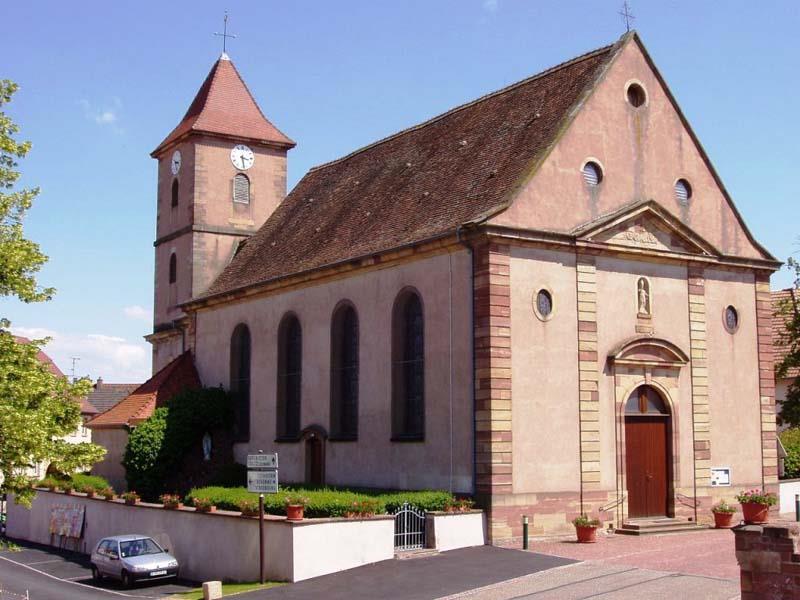Die Sankt Blaise Kirche