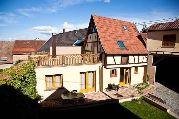 Furnished apartment La maison de Pamela