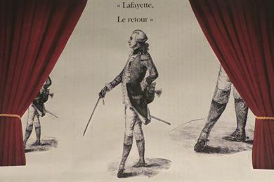 Lecture scénique : Lafayette, le retour