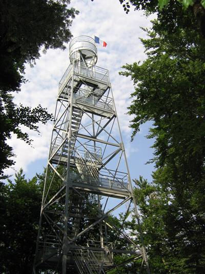 Vieux-Ferrette: La tour du Rossberg
