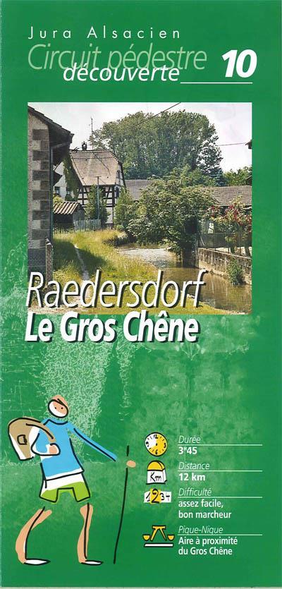Randonnée pédestre: Raedersdorf  le gros chêne