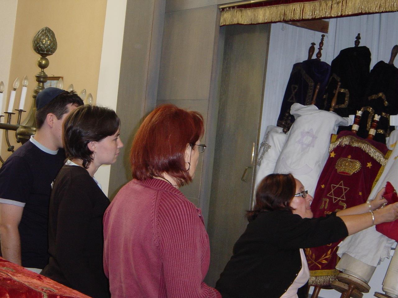 Visite guidée de la synagogue