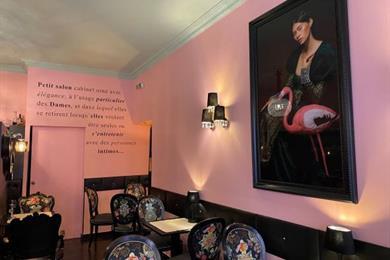 Salon de Thé - Le Boudoir
