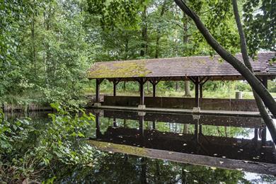 Le lavoir du Hundshof en Forêt d'Exception®