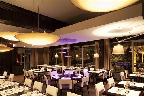 Hôtel Diana-Salle à manger