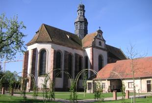 Guided tour of the St Cyriaque church and its gardens