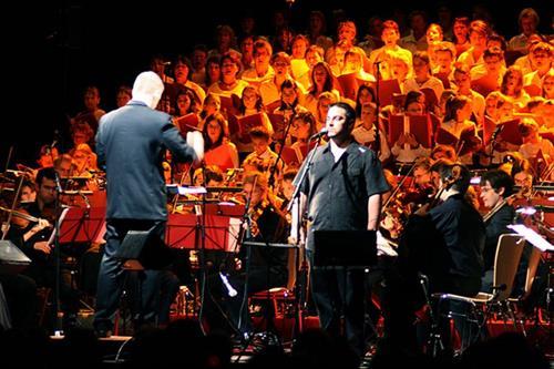 Les musiciens du chœur chantent Noël à Mutzig - Crédit photo : Musiciens du Choeur