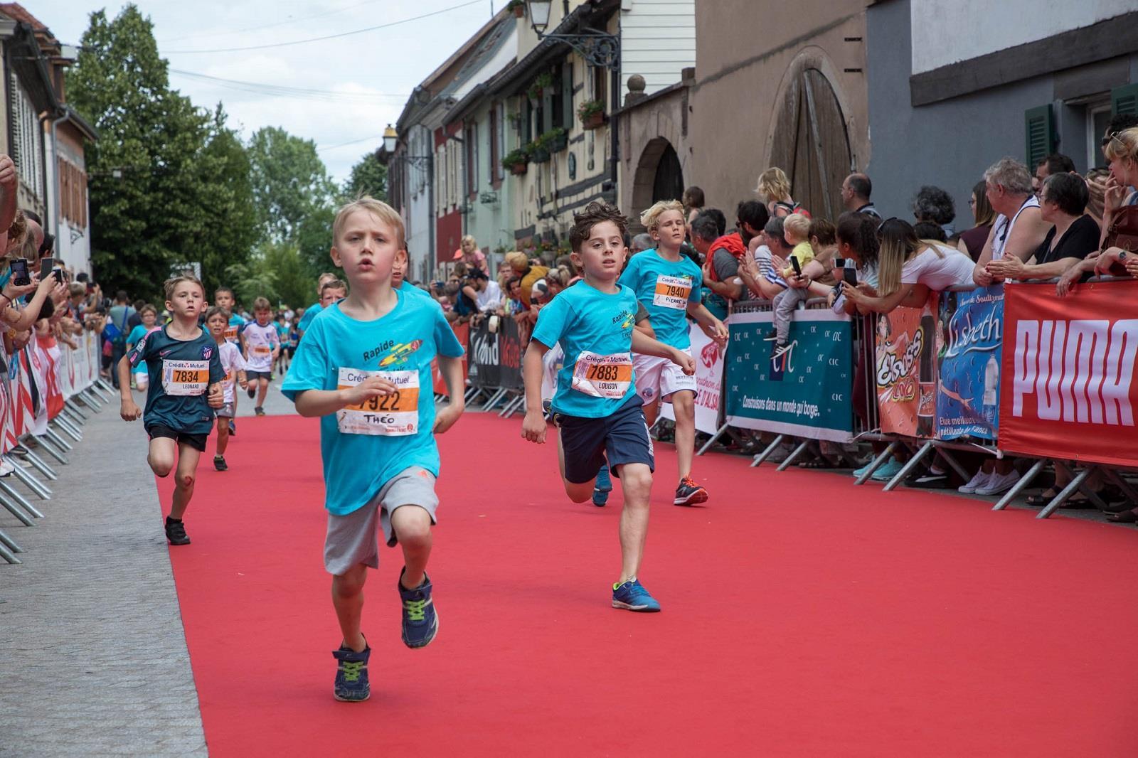 Marathon du vignoble d'Alsace - Enfants