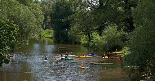 Bruche Sport Passion Molsheim http://bspmolsheim.com Journée découverte sur la Bruche