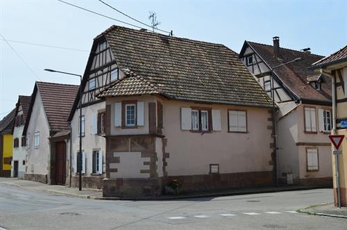 Maison avec oriel à Dachstein