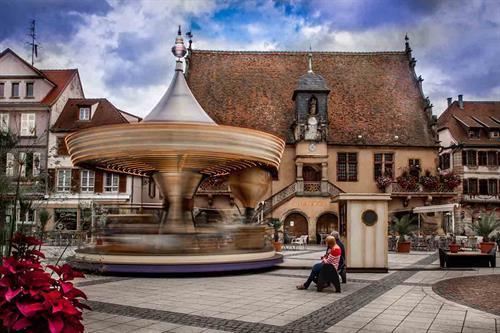 Vue de Molsheim - crédit photo : OTMM