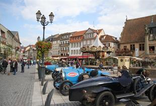 Bugatti festival on Friday