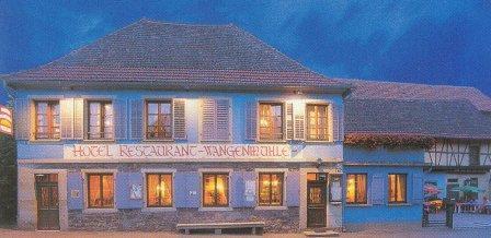 Hôtel-restaurant La Wangenmühle