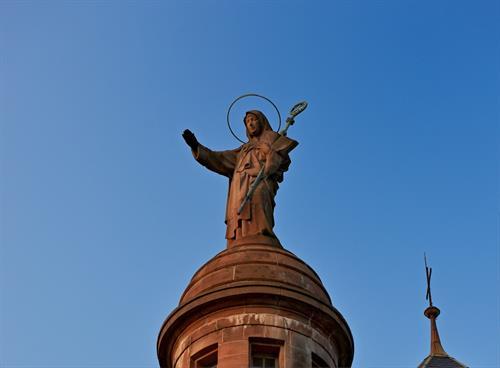 Sainte-Odile veille sur l'Alsace