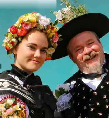 Wedding of Old Fritz, traditional Alsatian wedding