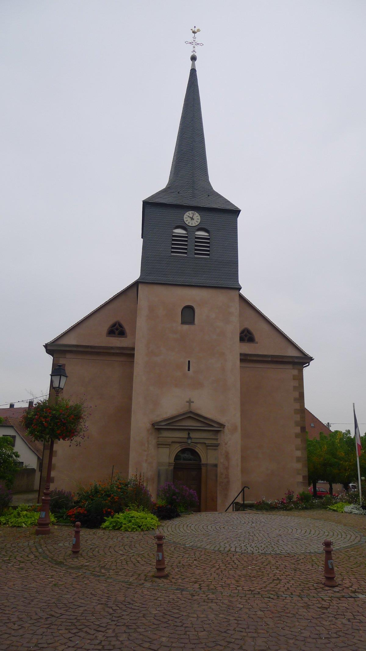 The Church of St Etienne