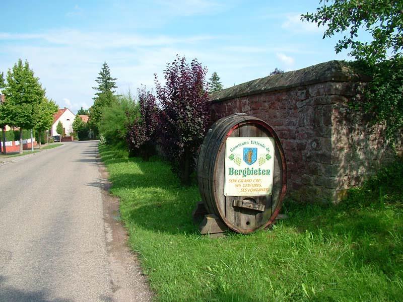 Sentier viticole de Bergbieten