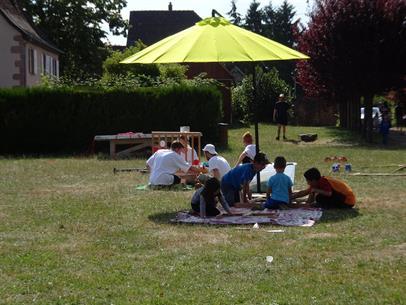 Street entertainment : Saint-Pierre-Bois