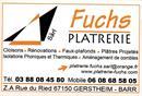 Plâtrerie Rénovation Fuchs
