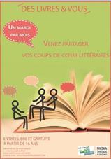Des livres et vous : rendez-vous avec...
