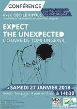 Conférence expect the unexpected