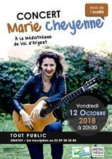 Concert de Marie Cheyenne