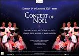 Concert de Noël à Choeur Battant