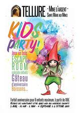 Kids party : forfait anniversaire au...