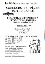 Concours de pêche intergroupe à...
